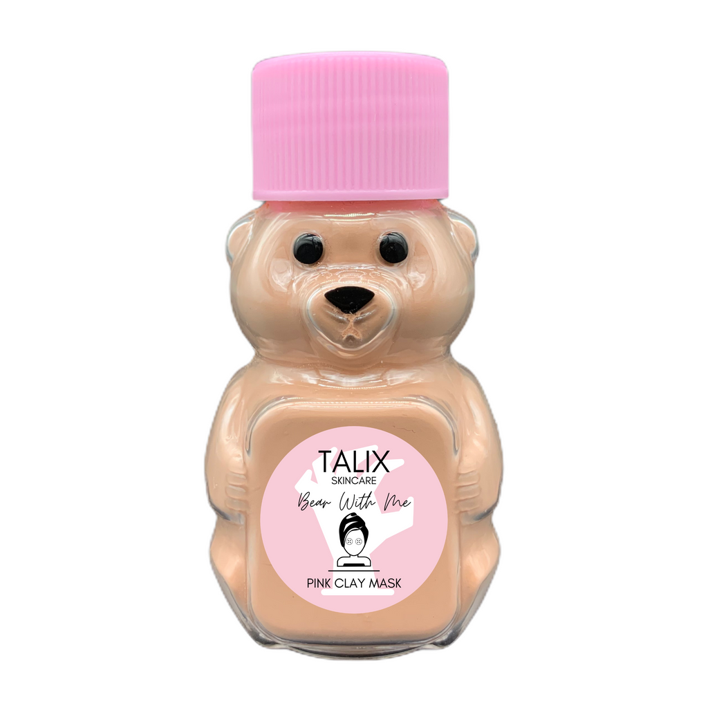 Bear with Me Pink Clay Mask