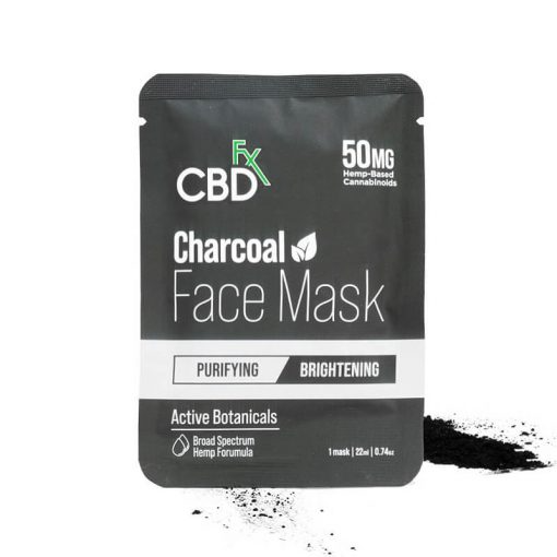 CBDfx Charcoal Face Mask: 50mg