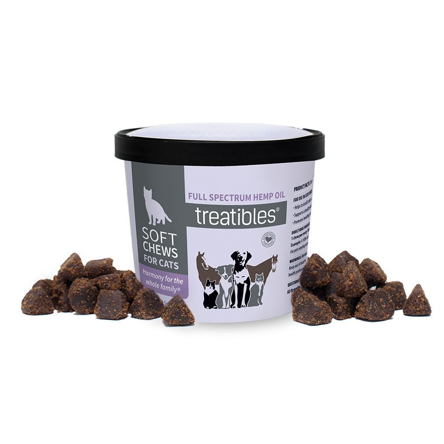 Treatibles Soft Chews For Cats: 100ct (approx.)