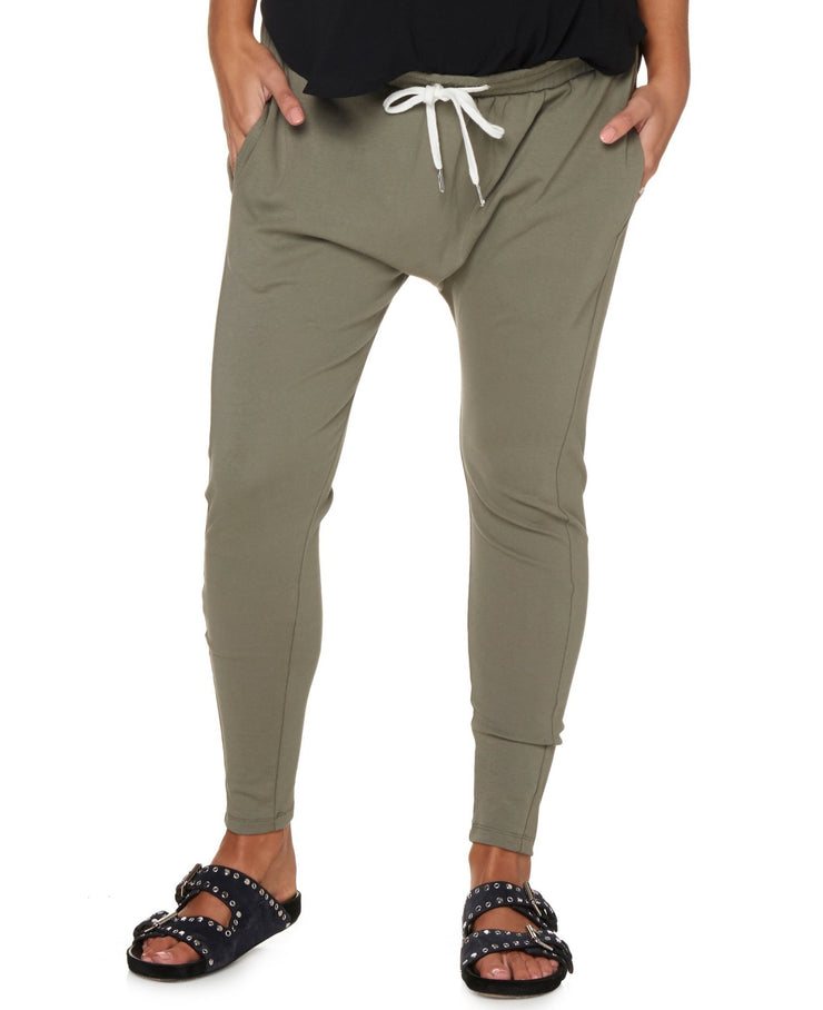 Beating Heart Lounge Pant - Khaki