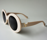COCO Cream Sunglasses