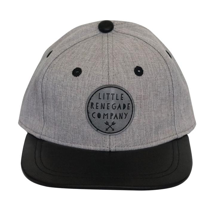 Little Renegade - Grey and Black Cap