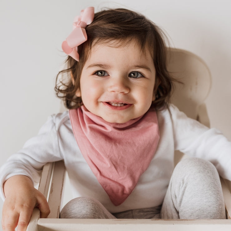 Dribble Bib - Jewel Pink
