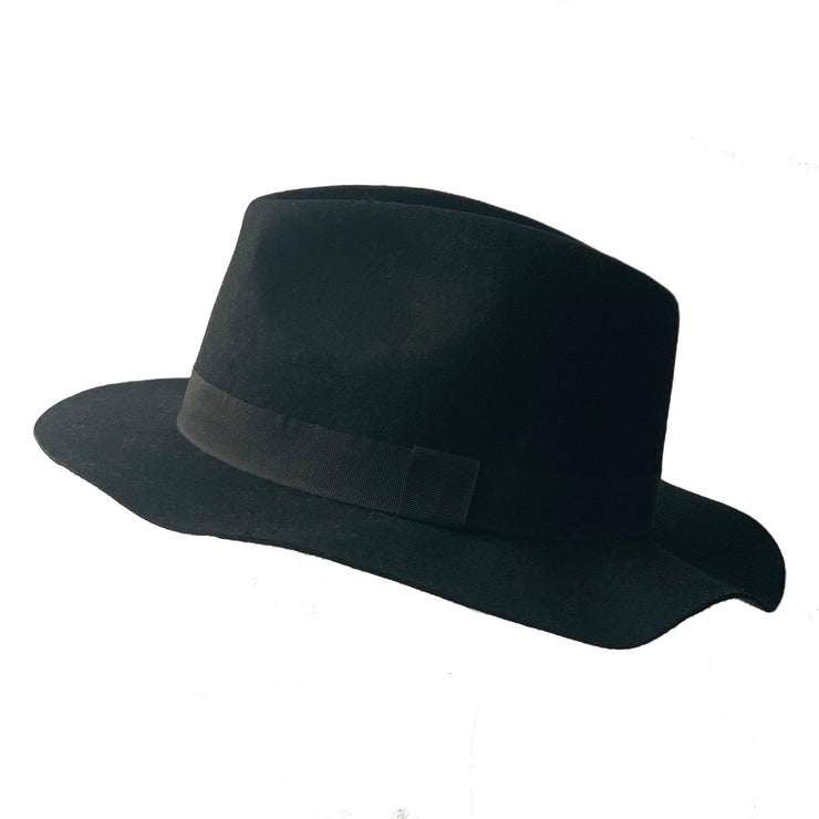 Kids Ell Fedora - Black