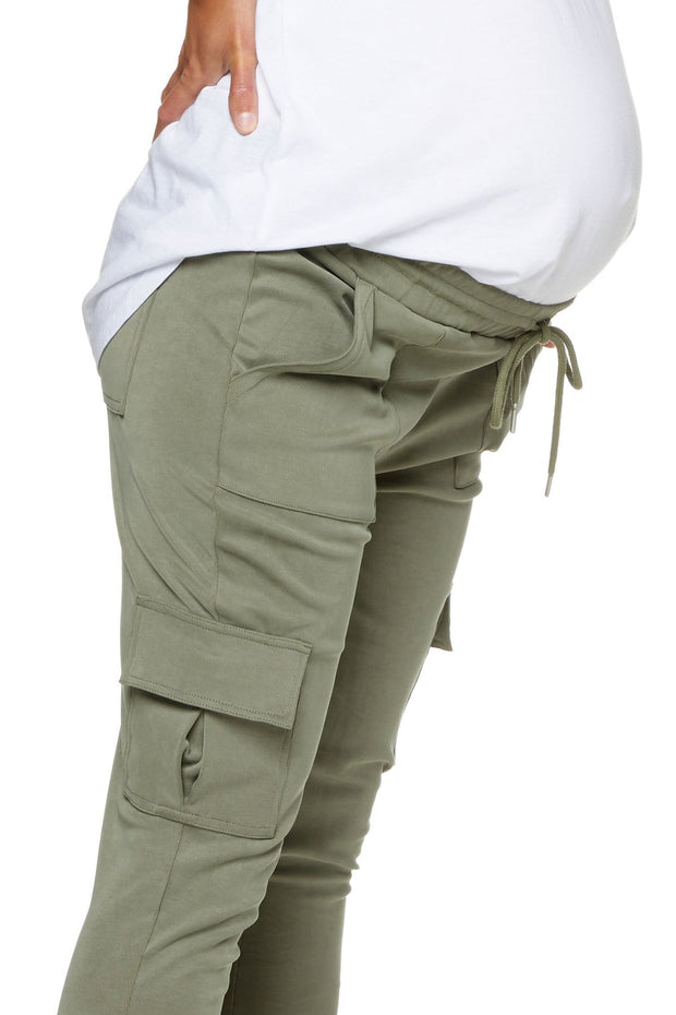 New Beginnings Cargo Pant - Sage