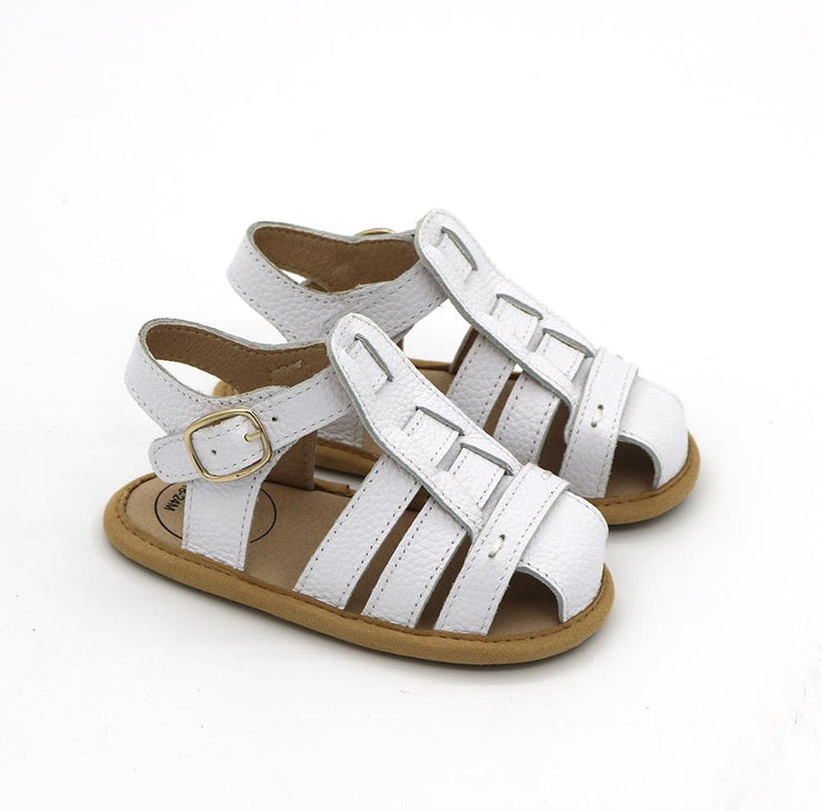 KIDS - Penny Sandals - White