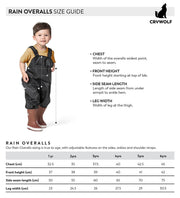 Rain Overalls - Dusty Rose