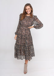 Ruby Dress - Leopard