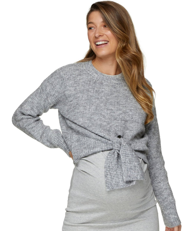 Skies The Limit Tie-Front Knit