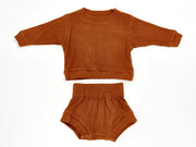 Spencer Long Sleeve Set - Teddy