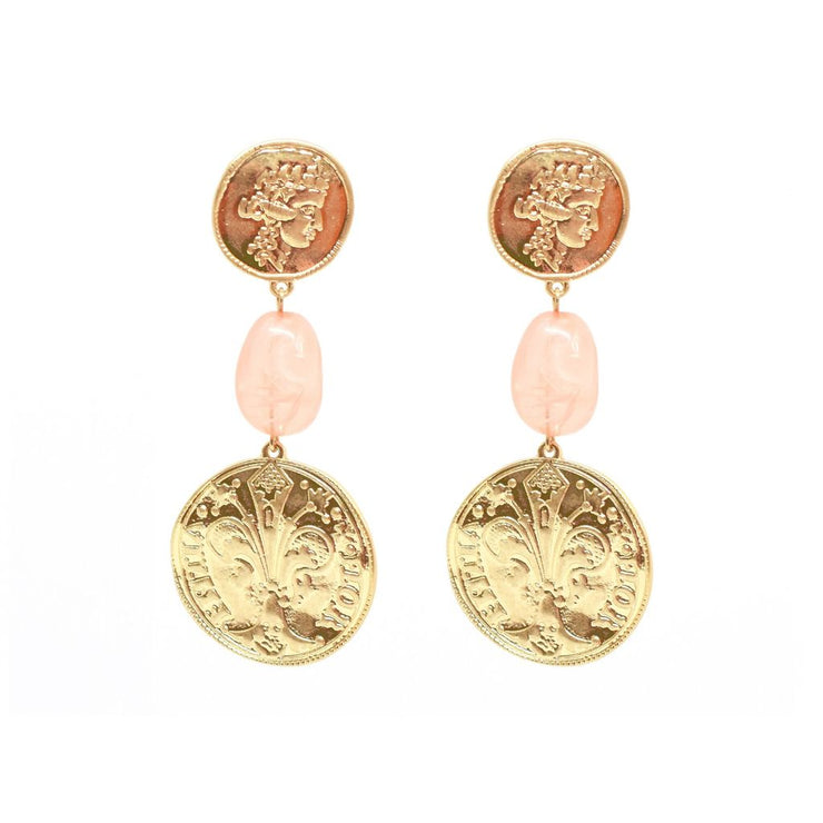 The Great's Coin Earrings