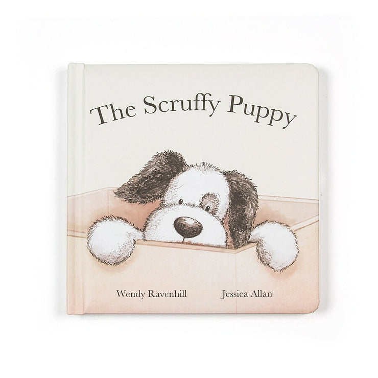 Jellycat Book - The Scruffy Puppy