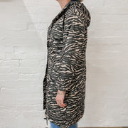 Madison Puffer Jacket - Zebra