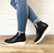 OHMY Leather Boots - Black