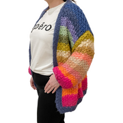 Raining Rainbows Cardigan