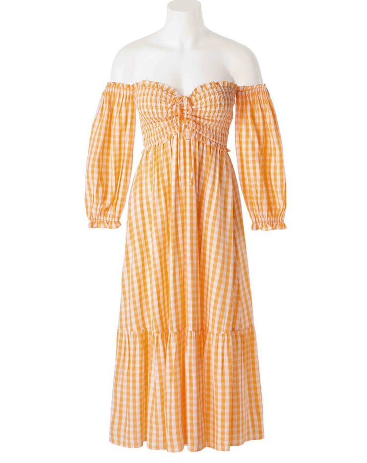 Pretty In Peaches Dress