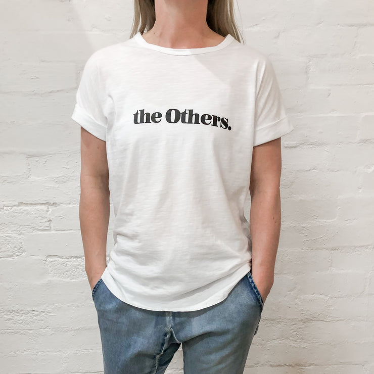 'The Others' Relaxed Tee - White