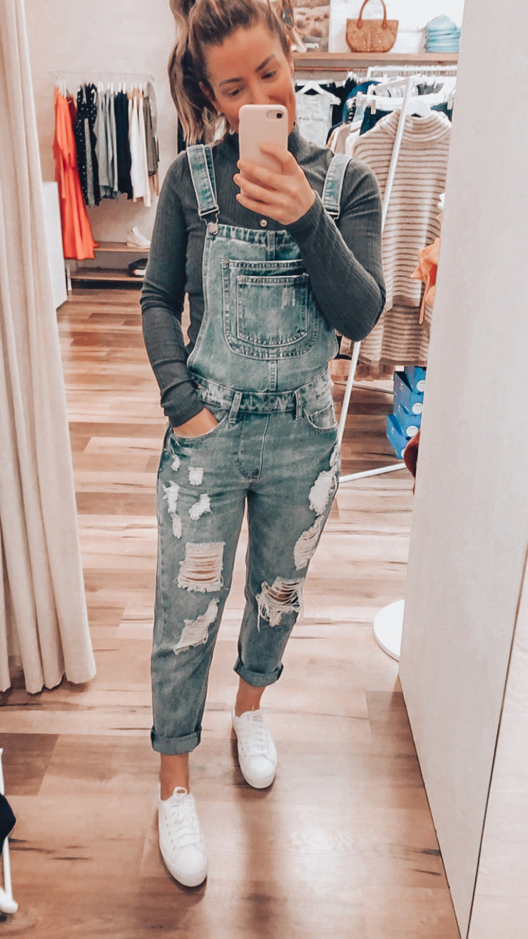 Joey Denim Overalls