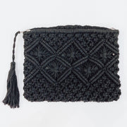SANTORINI Clutch - Black