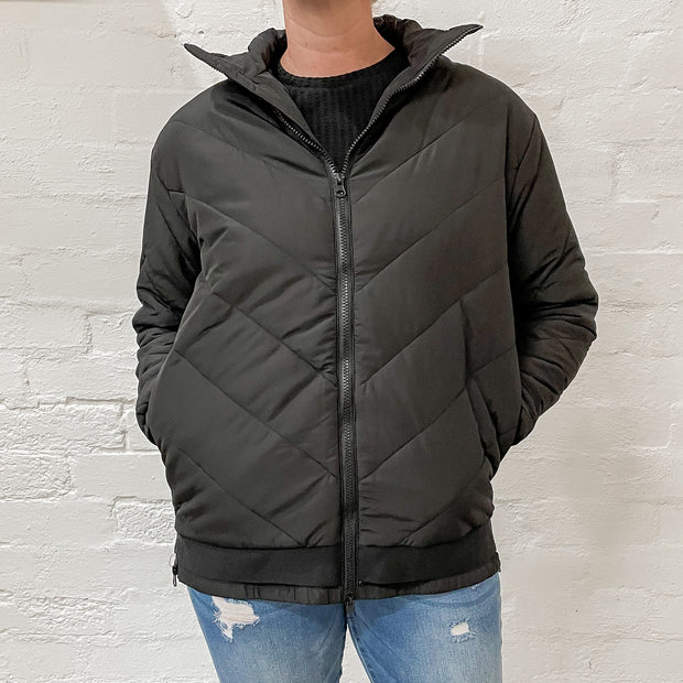 Rylie Puffa Jacket - Black