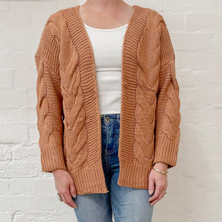 Willow Cardigan - Mocha