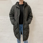 Madison Puffer Jacket - Black