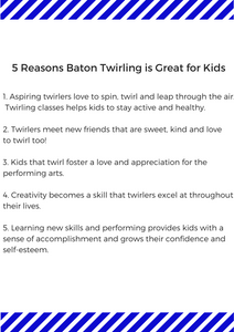 5 Reasons Baton Twirling Is Great