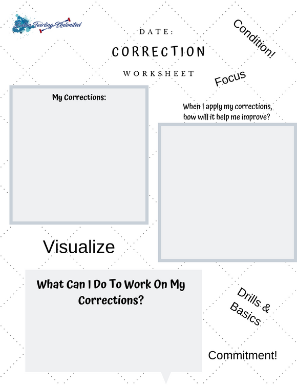 Correction  Worksheet