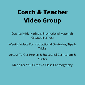 Group Coaching  For Baton Twirling Professionals