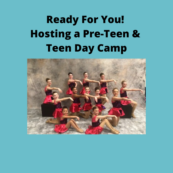 Hosting A Pre-Teen and Teen Day Camp