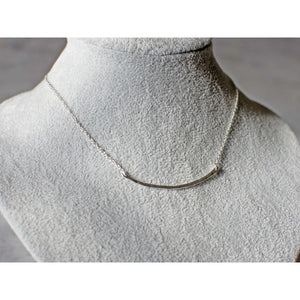 Gorjana Tanner Bar Necklace - Haute Lava