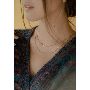 Lover's Tempo Cleo Layered Necklace - Haute Lava