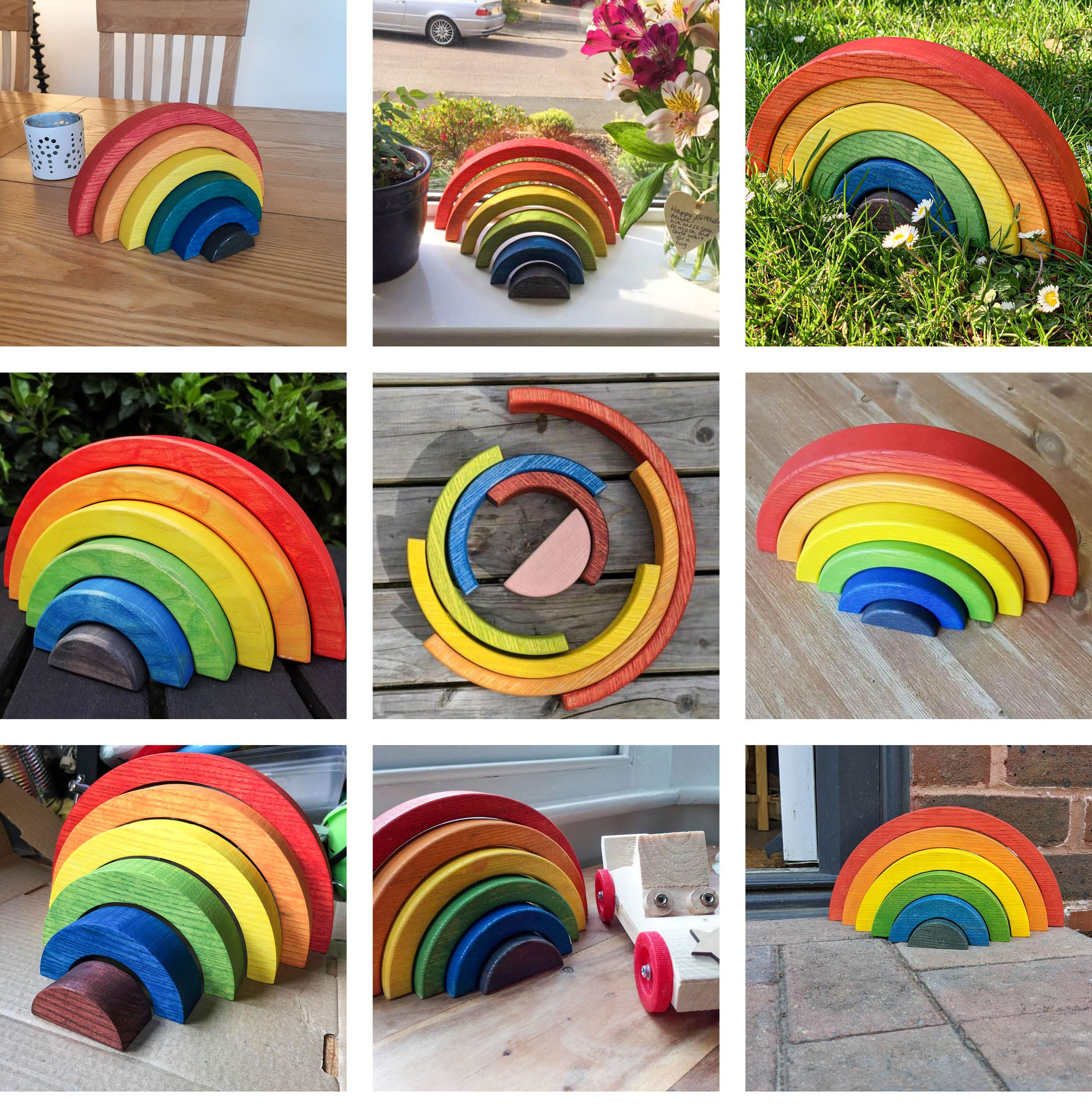 Ash & Co Rainbow making kits customer photos