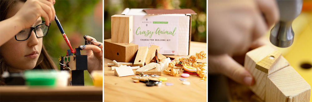 Mini maker and woodworking at home kits