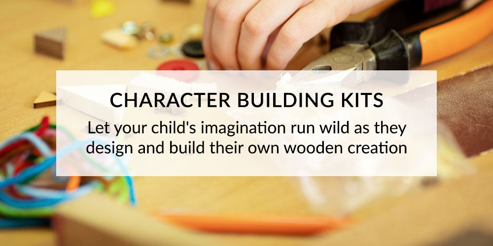 Ash and Co Workshops Character Building Kits for Kid