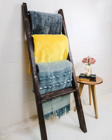 Make a Blanket Ladder - weekend woodworking course at Ash & Co. Workshops
