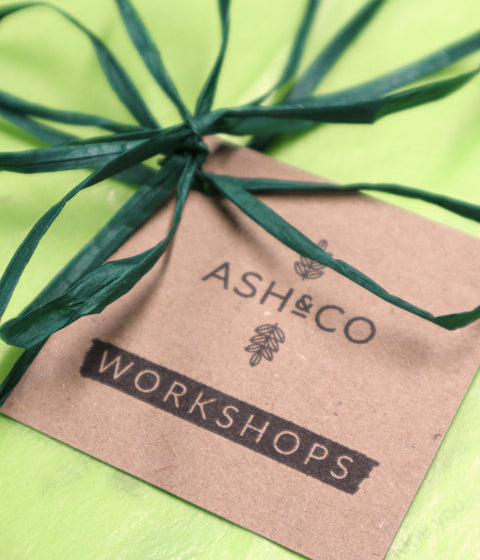 Gift wrapping from Ash & Co. Workshops