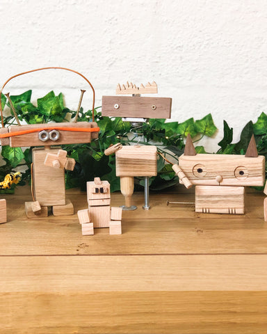 Kids Character Building woodworking craft workshop