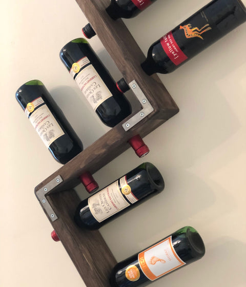 Make a Zig-Zag Wine Rack – Beginners Woodworking Course