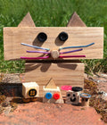 Ash & Co Workshops Kooky Cat character building woodwork for kids kit