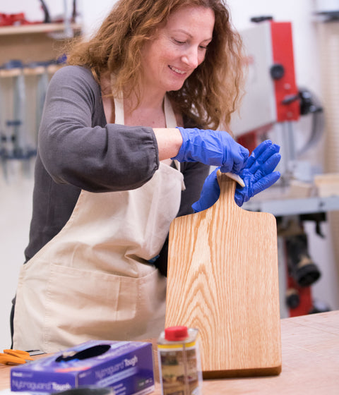 Make a Cheese Board – Beginners Woodworking Course