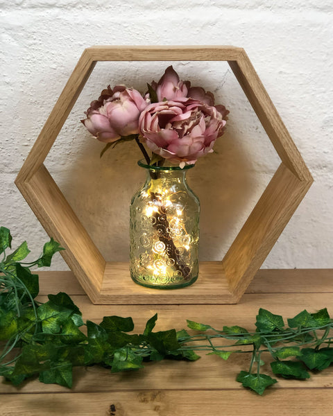make your own hexagon shelf to be proud of and learn lots of new skills in a two-evening woodworking course suitable for beginners