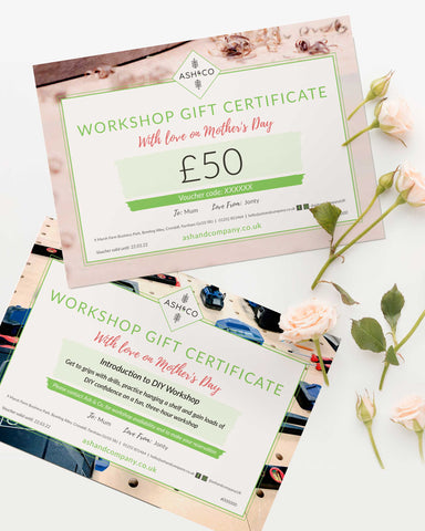 Gift Voucher - with Free Personalised Printable Gift Certificate