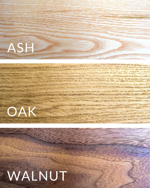 ash & co workshops offers a choice of solid hardwood for your beginners woodworking course project