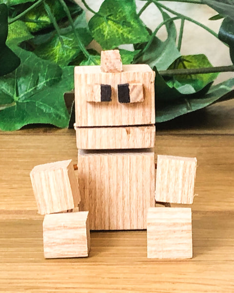 Build your own wooden robot in a fun kids craft workshop