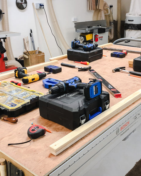 Get practical experience with a range of tools on a beginners DIY course