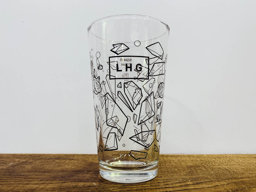 LHG Crystal Shard Glass