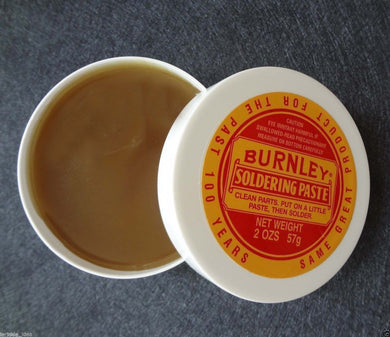 Burnleys Solder Paste 2oz