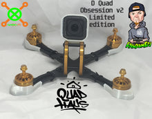 Load image into Gallery viewer, D quad Limited Edition GOLD BLING mini Quad