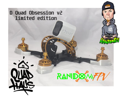 D quad Limited Edition GOLD BLING mini Quad
